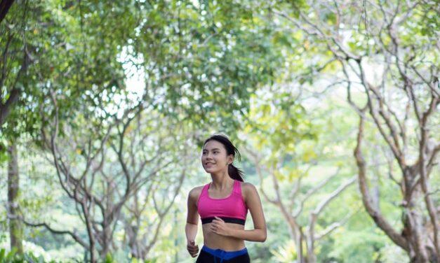 Mediter efter en udmattende løbetur