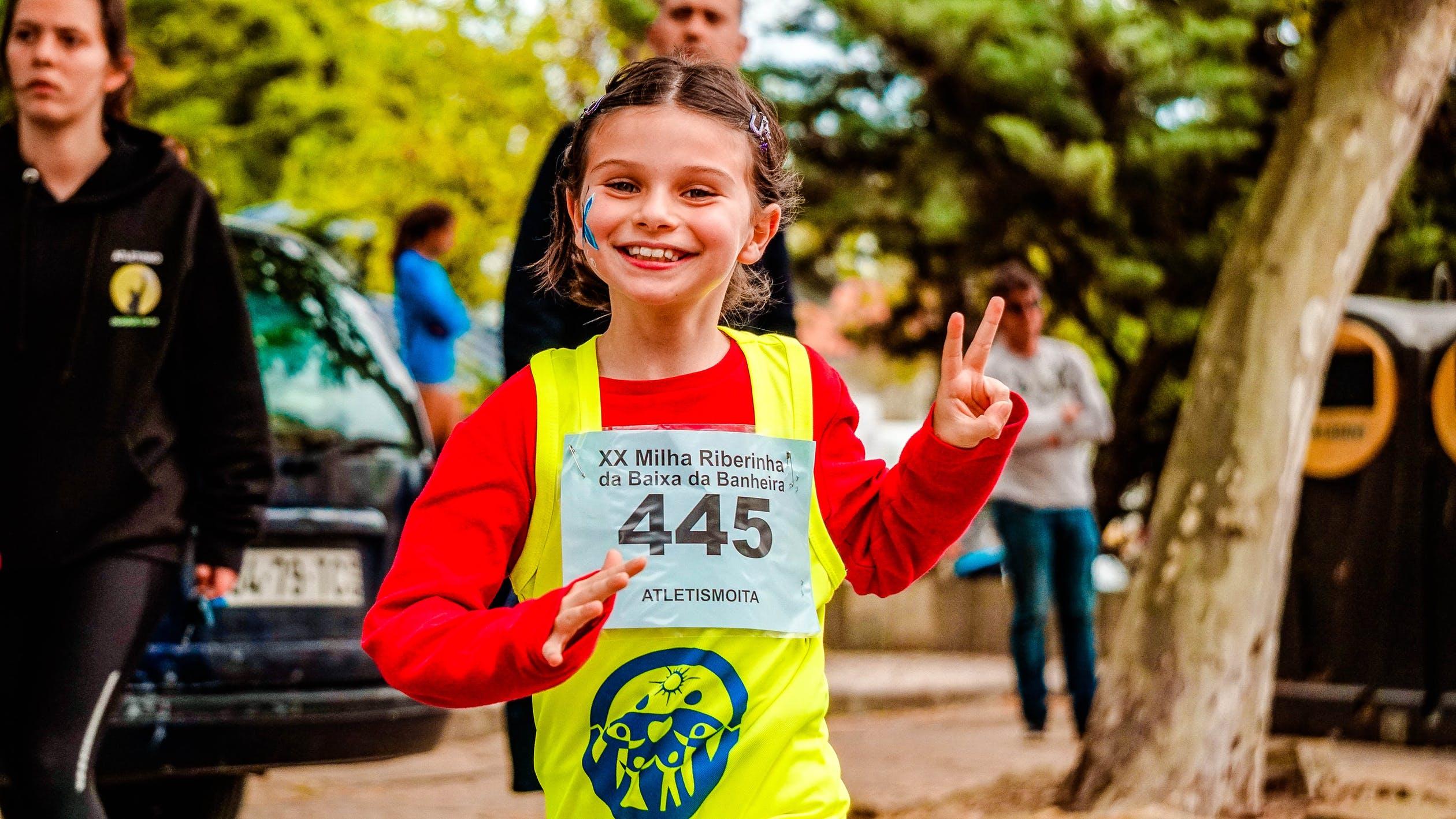 Pige til løb