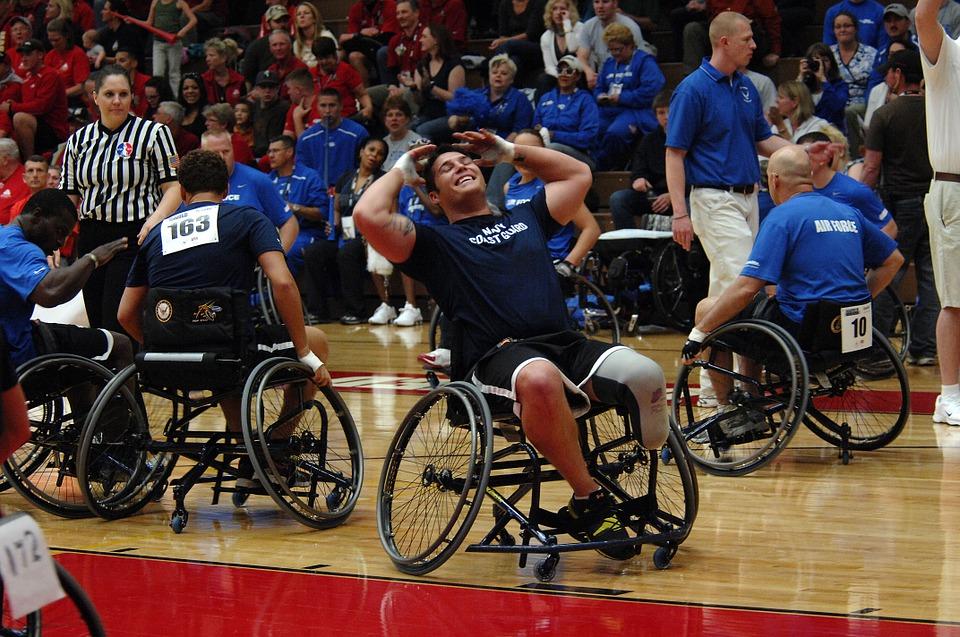 kørestol basketball